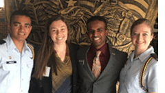 Student leaders attend West Point conference