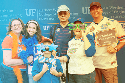 Image from the 2017 Alumni Reunion photo booth
