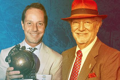 Dr. Herbert Wertheim and Alex Moreno