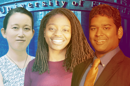 Daisy Zhe Wang, Ph.D.; Erika Moore, Ph.D.; and Kevin Butler, Ph.D.