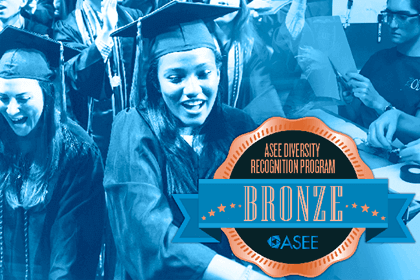 ASEE's Diversity Recognition Program has recognized Herbert Wertheim College of Engineering with a Bronze award