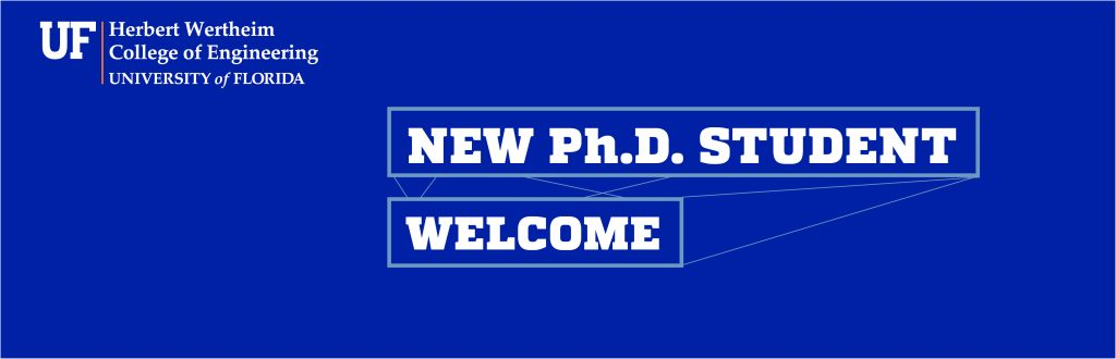 Ph.D Student Welcome