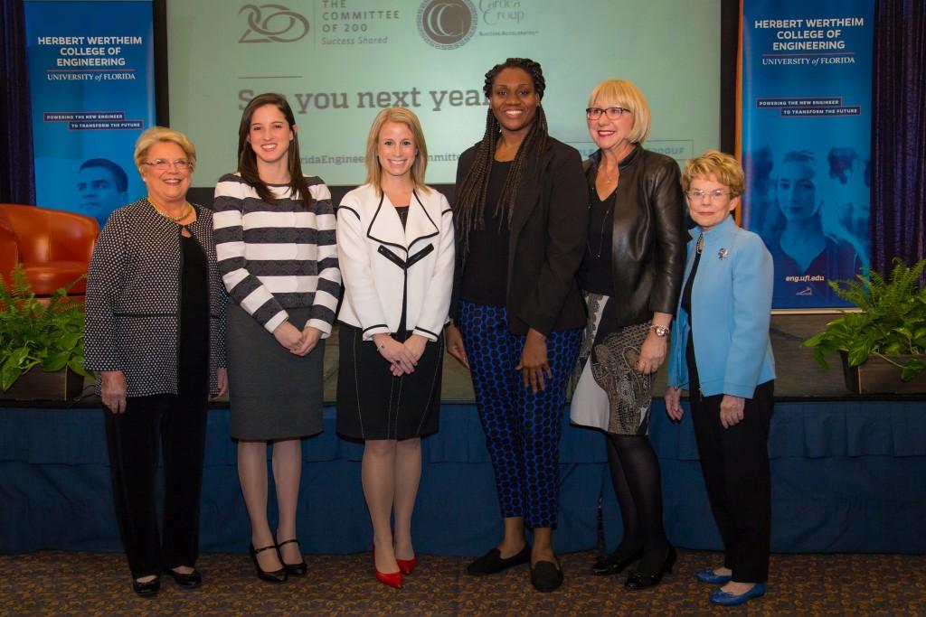 The University of Florida's Herbert Wertheim College of Engineering's C200 Summit to celebrate women in leadership, held at the Reitz Union Ballroom on UF's campus in Gainesville, Florida.