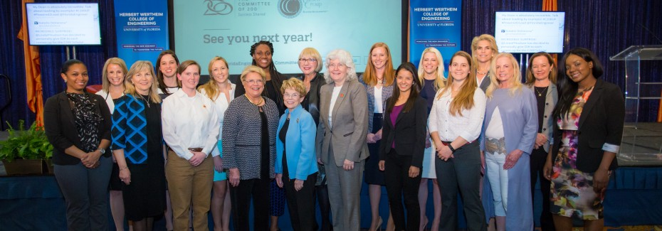 The University of Florida's Herbert Wertheim College of Engineering's C200 Summit to celebrate women in leadership, held at the Reitz Union Ballroom on UF's campus in Gainesville, Florida.