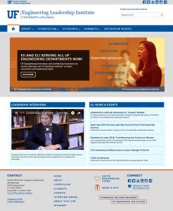 Screenshot of the legacy Gator Engineering WordPress theme