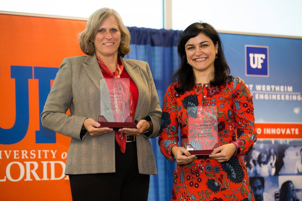 Aysegul Gunduz, AAW, receives the UF Provost's Excellence Award for Assistant Professors