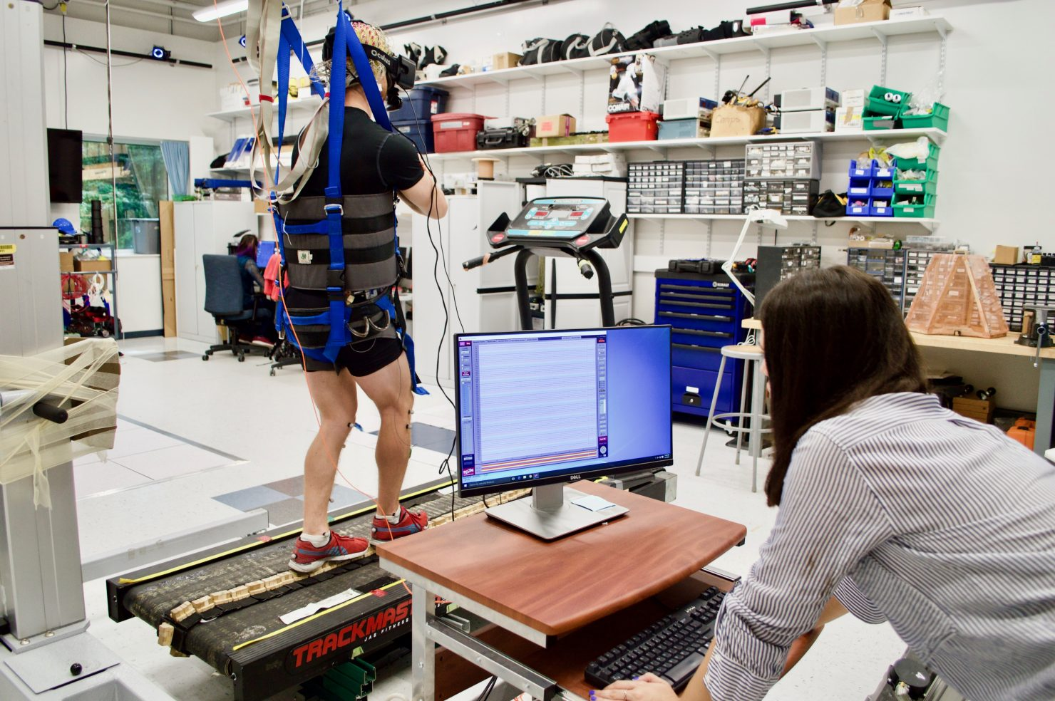 VR training the brain