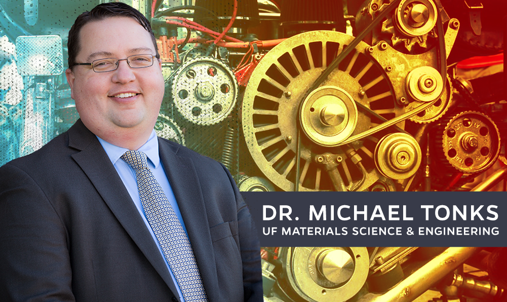 Dr. Michael Tonks of UF MSE