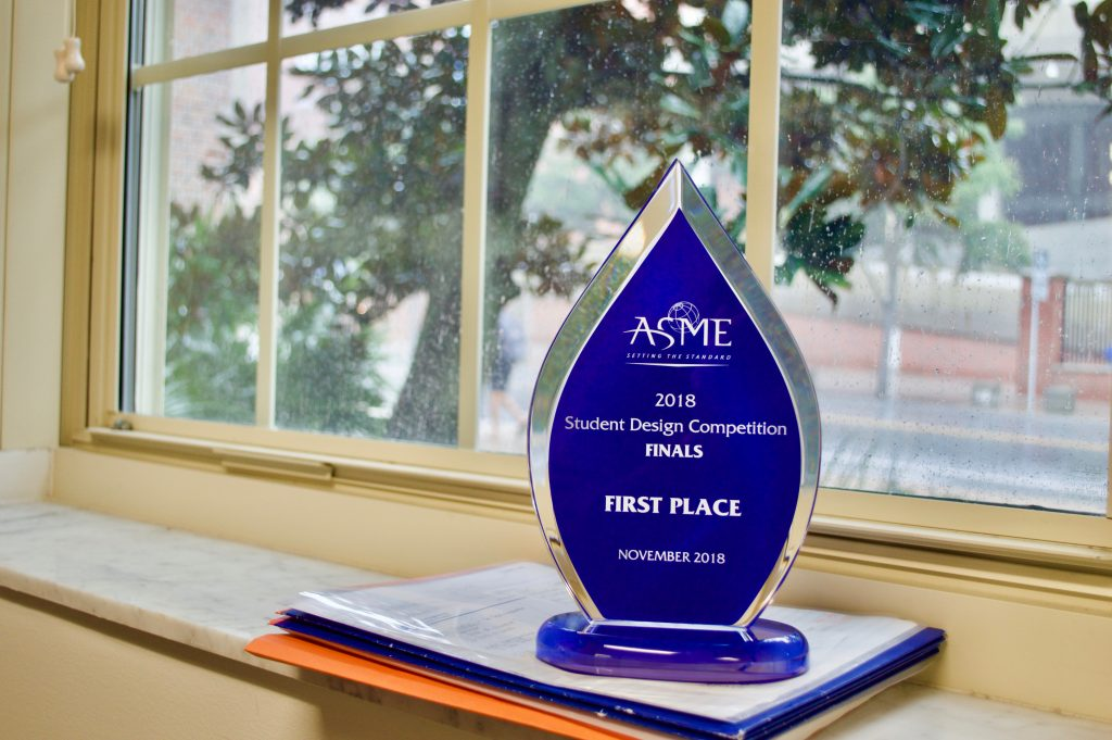 ASME trophy