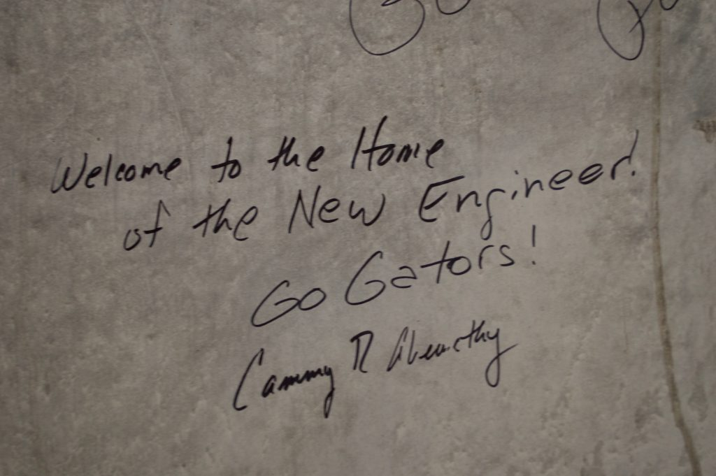 Welcome to the home of the New Engineer - written by Dean Cammy R. Abernathy