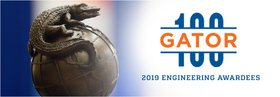 2019 gator100 awardees from engineering