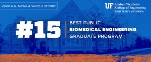 No. 15 Biomedical engineering grad program, publics