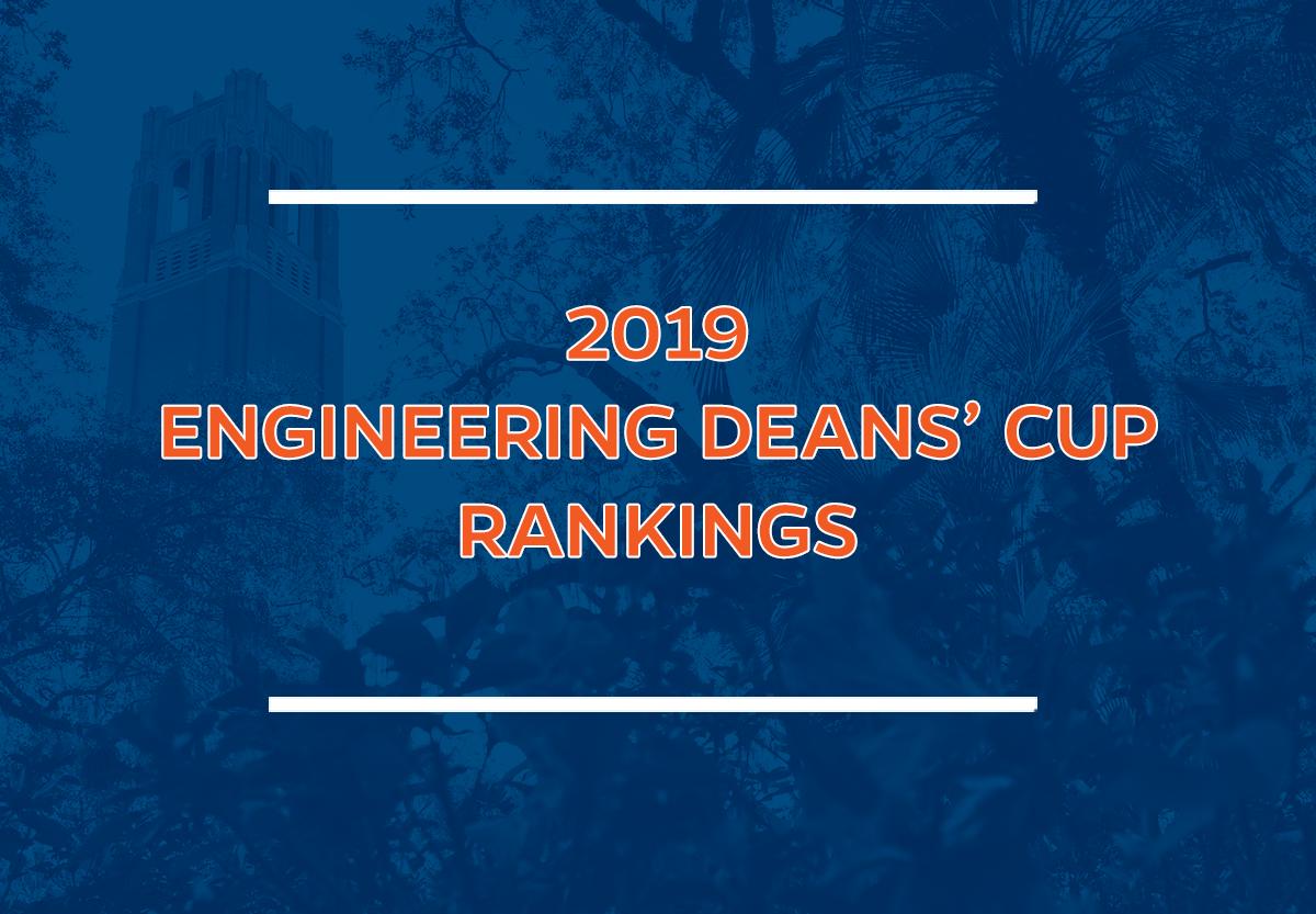 2019 Engineering Deans' Cup Rankings