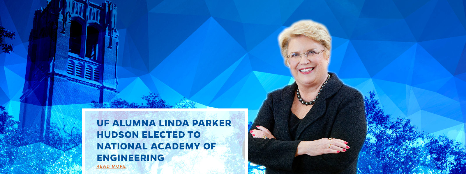 UF Alumna Linda Parker Hudson Elected to National Academy of Engineering