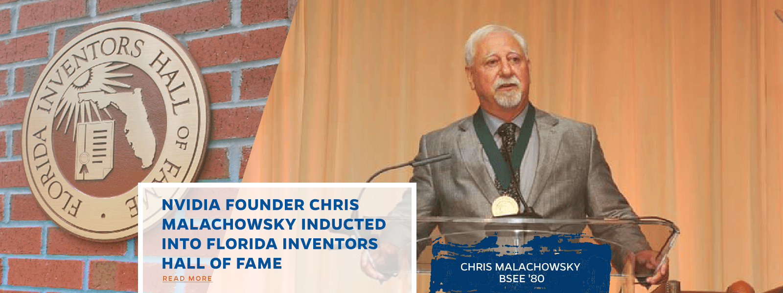 NVIDIA Founder Chris Malachowsky Inducted Into Florida Inventors Hall Of Fame