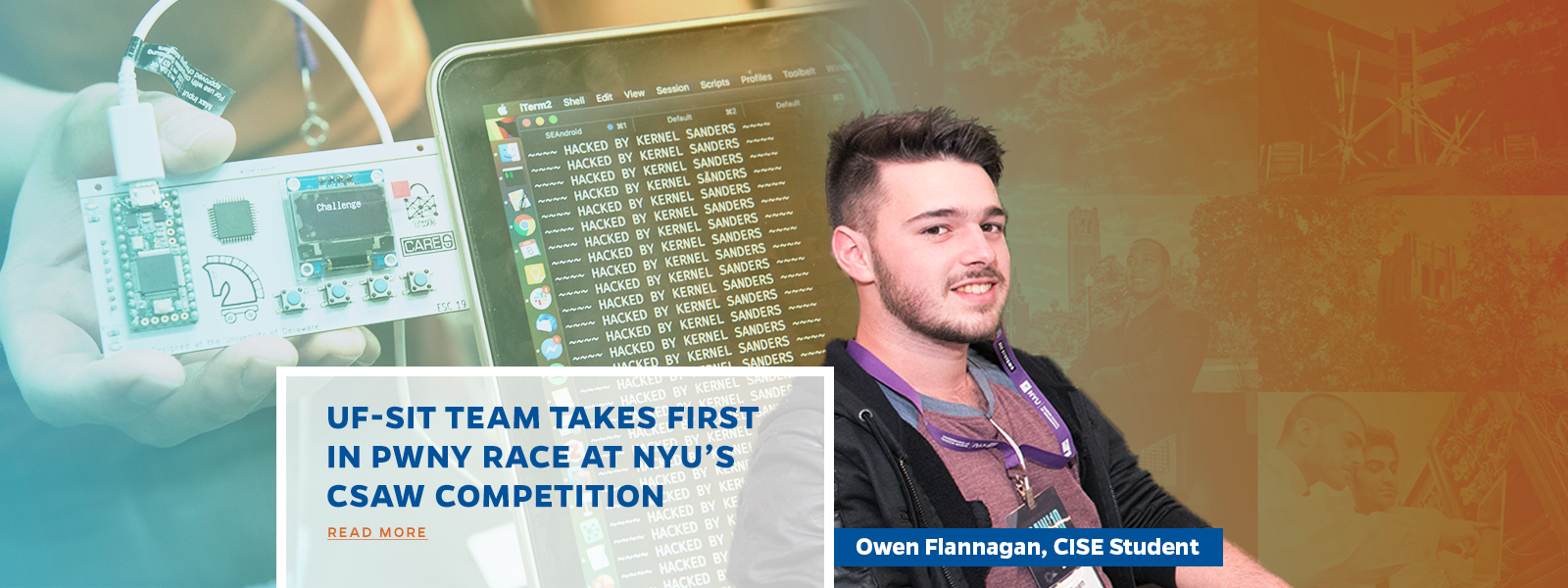 UF-SIT Team Takes First in Pwny Race at NYU's CSAW Competition