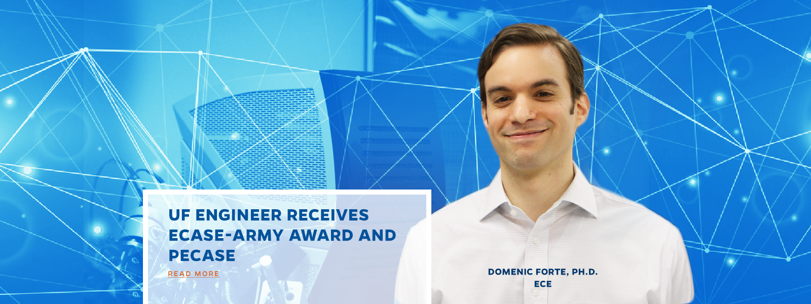 UF ENGINEER RECEIVES ECASE-ARMY AWARD and  pecase