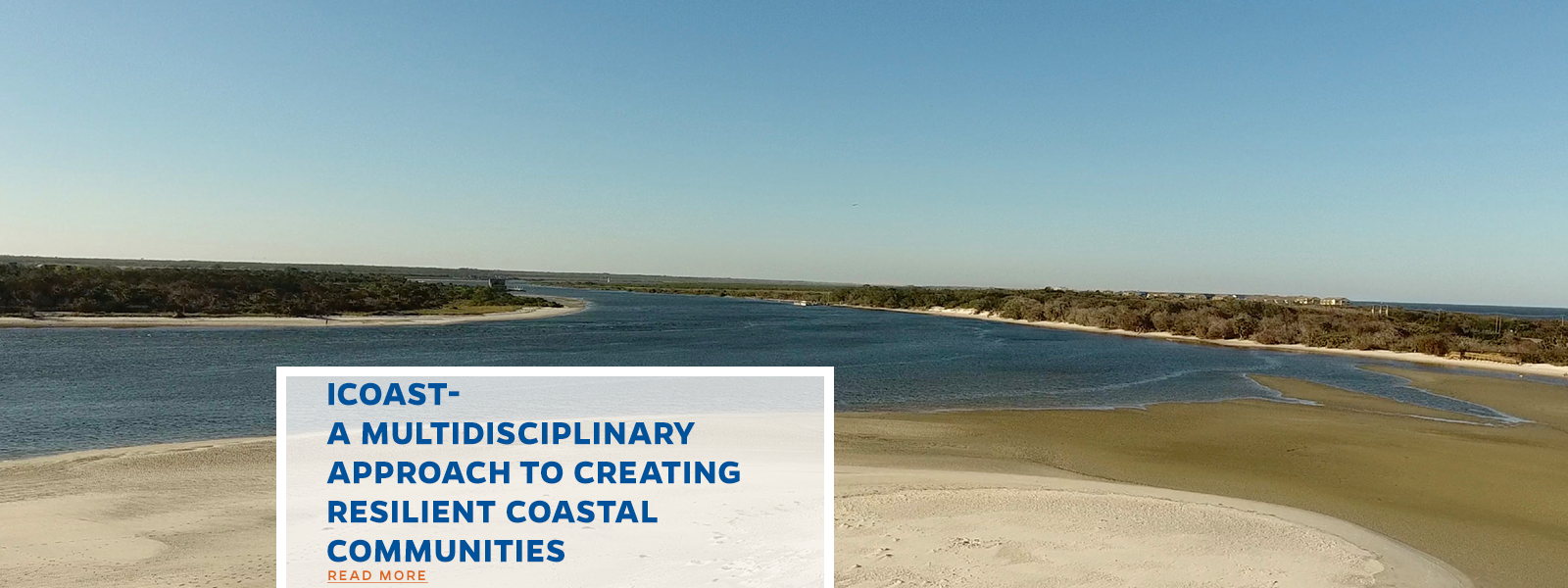 iCoast- A Multidisciplinary Approach to Creating Resilient Coastal Communities