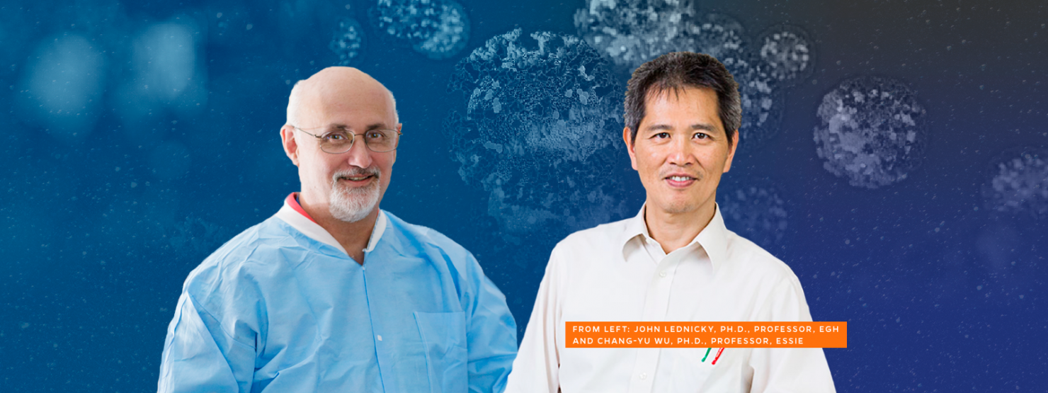 John Lednicky, Ph.D., and Chang-Yu Wu, Ph.D.