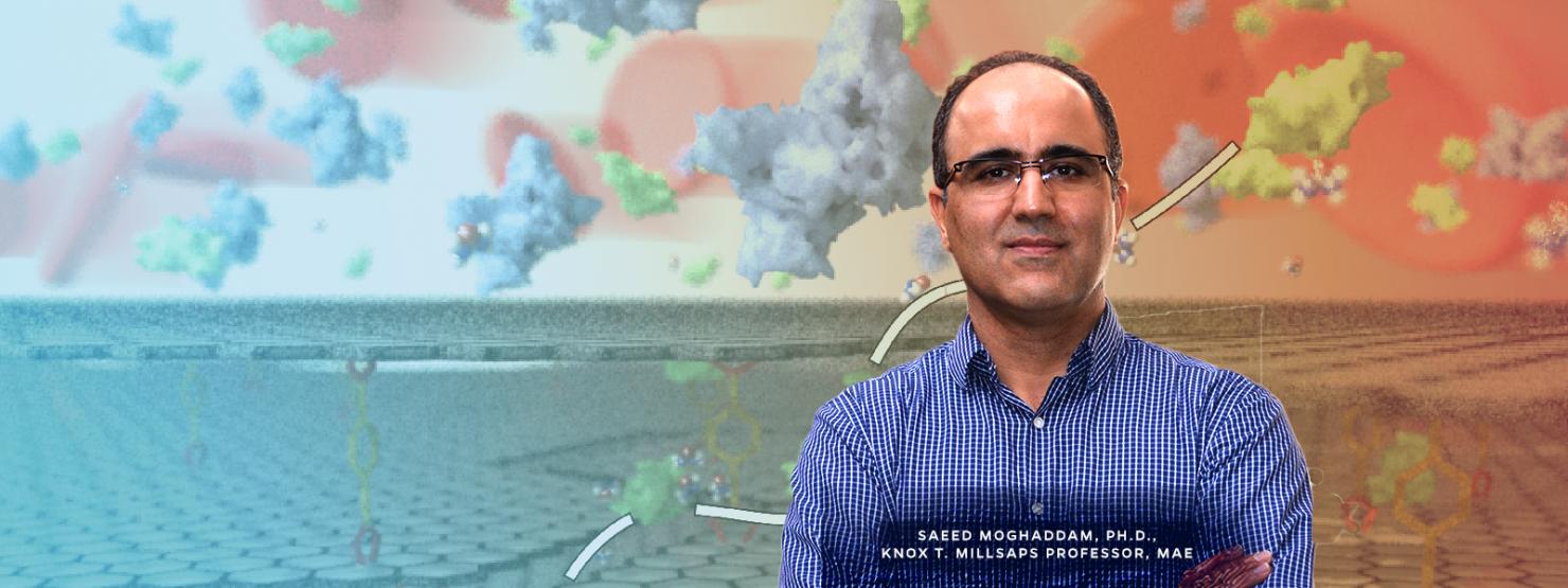 Saeed Moghaddam, Knox T. Millsaps Professor in MAE