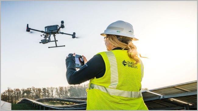 Solar Drone - Duke Energy