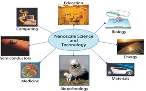 Nanoscale Science and Technology Info Graphic