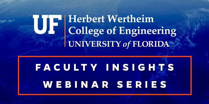 Faculty Insights Webinar Series