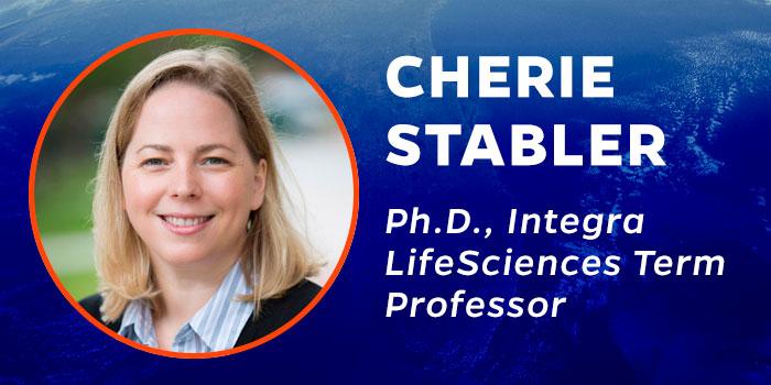 Cherie Stabler, Ph.D., Integra LifeSciences Term Professor